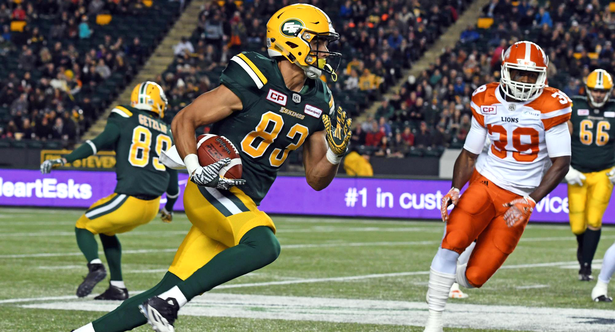 Zylstra Makes His Mark In CFL