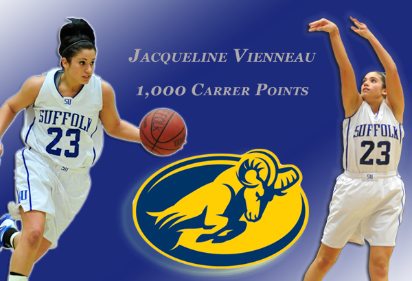 Jacqueline Vienneau Reaches 1,000 Career Point Milestone