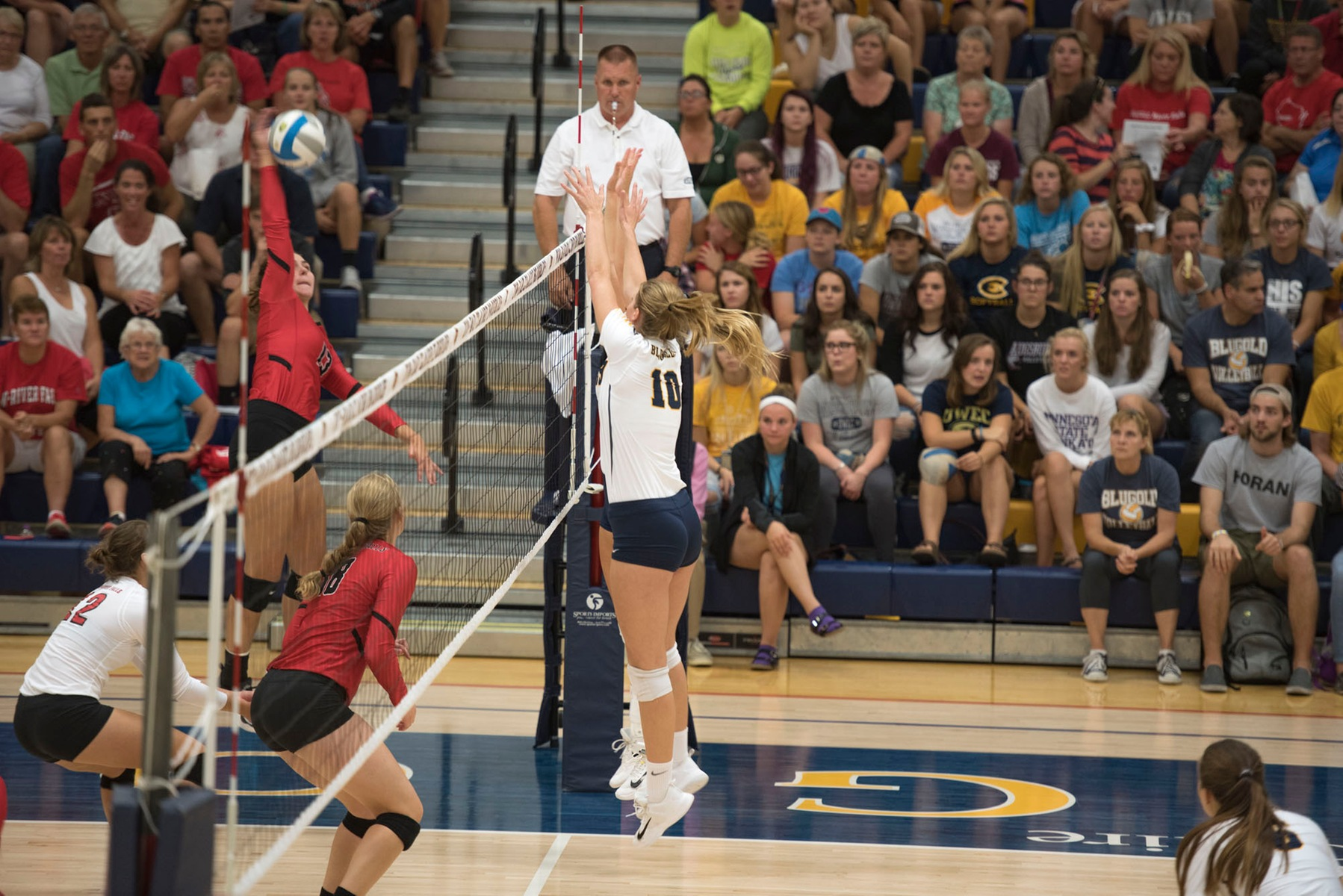 Blugolds sweep Cobbers & Eagles to close out Schumacher Memorial Tournament