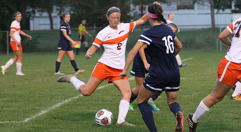Women's soccer leads early but falls to Webster