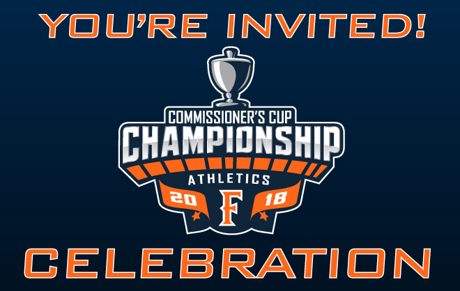 Join Our Commissioner's Cup Celebration on Sunday at Men's Soccer