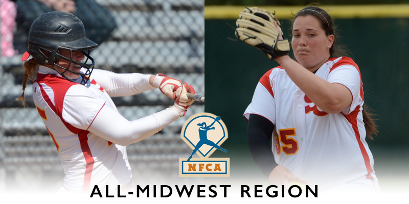 Haag, Fisher named to all-region team