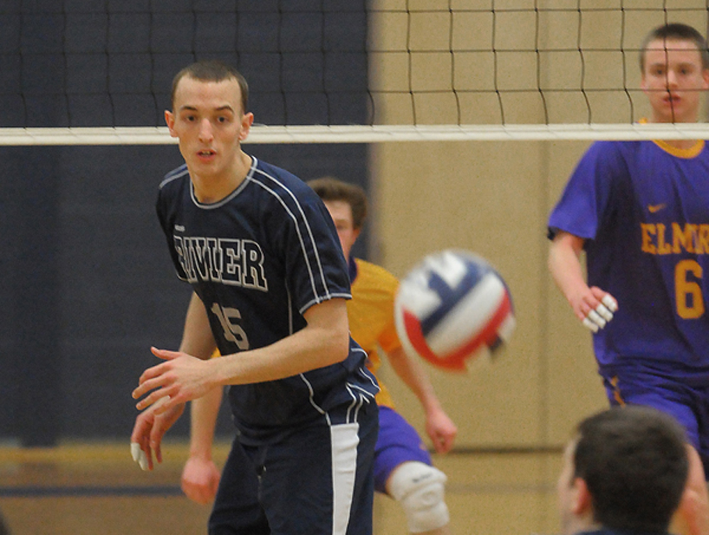 Men's Volleyball improves to 2-0 behind Phegley-Walker's 13 kills