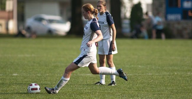 Moravian Drops First Game of the Season