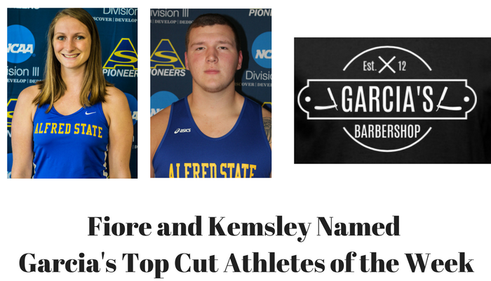 Garcia's Top Cut Athletes of the Week - April 9th