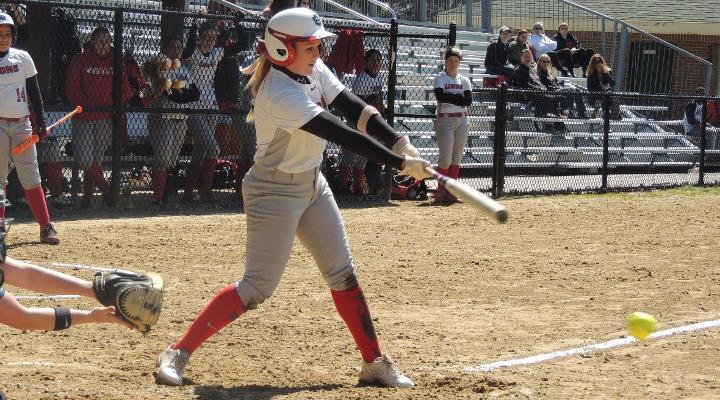 Softball Downed by Bay State Foe Elms, 9-1
