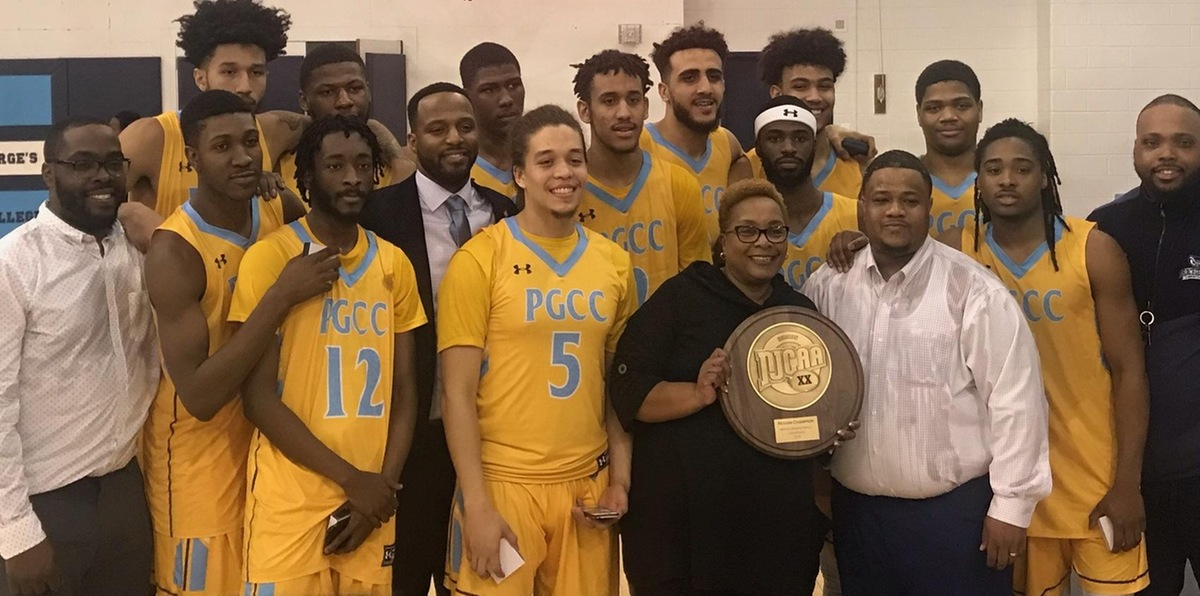 Prince George's Men's Basketball Wins NJCAA Region XX Division III Championship For Eighth Time In Program History