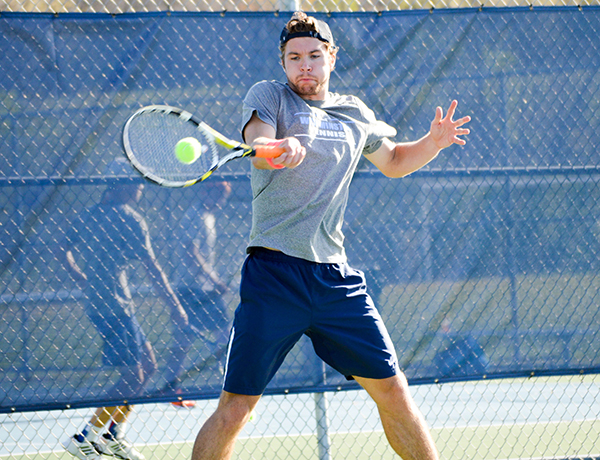 Men's Tennis Places Fourth at SLIAC Men's Tournament