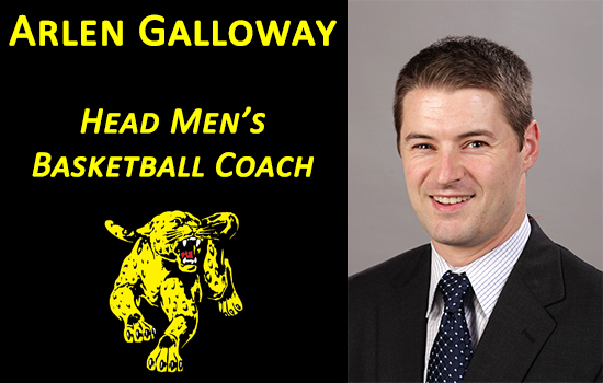 Arlen Galloway Named Head Men's Basketball Coach