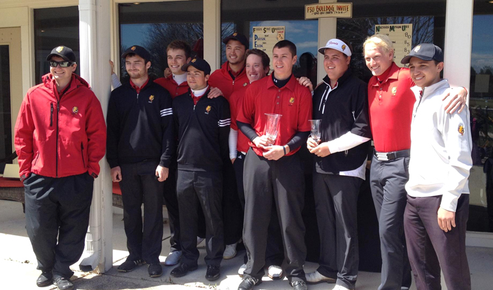 Ferris State Men's Golf Wins Annual Bulldog Invitational At Katke Golf Course