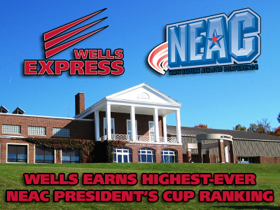 Wells Earns Its Highest-Ever NEAC President's Cup Ranking