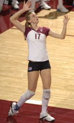 Volleyball Slides Past Utah Valley 3-2