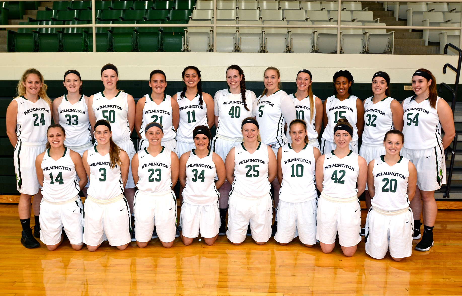 2017-2018 Women's Basketball Team