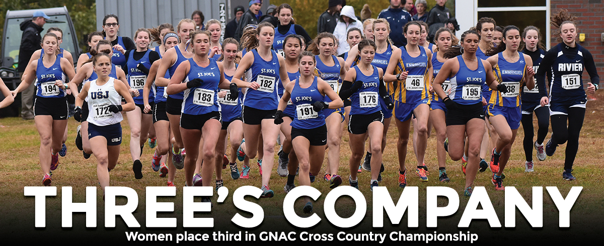 Saints Win GNAC Women's Cross Country Championship