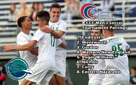 Men's Soccer Claims Seventh Seed in CCC Tournament