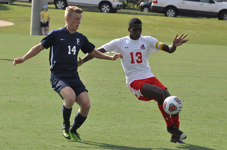 2017-18 in Review: Errick Sturm's hat trick leads men's soccer past Toccoa Falls