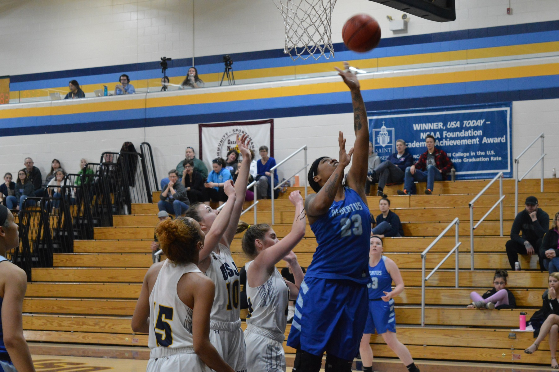 Osmond Records Triple-Double, Women's Basketball Defeats Western CT State