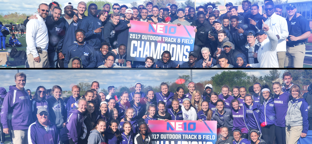Southern Connecticut Men, Stonehill Women Hoist Hardware at NE10 Outdoor Track & Field Championships