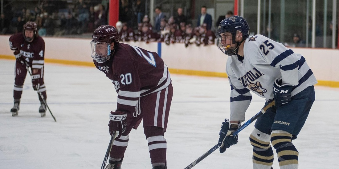 Men's Hockey Handles Fitchburg State, 4-1