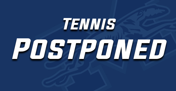 Moravian postpones tennis matches.