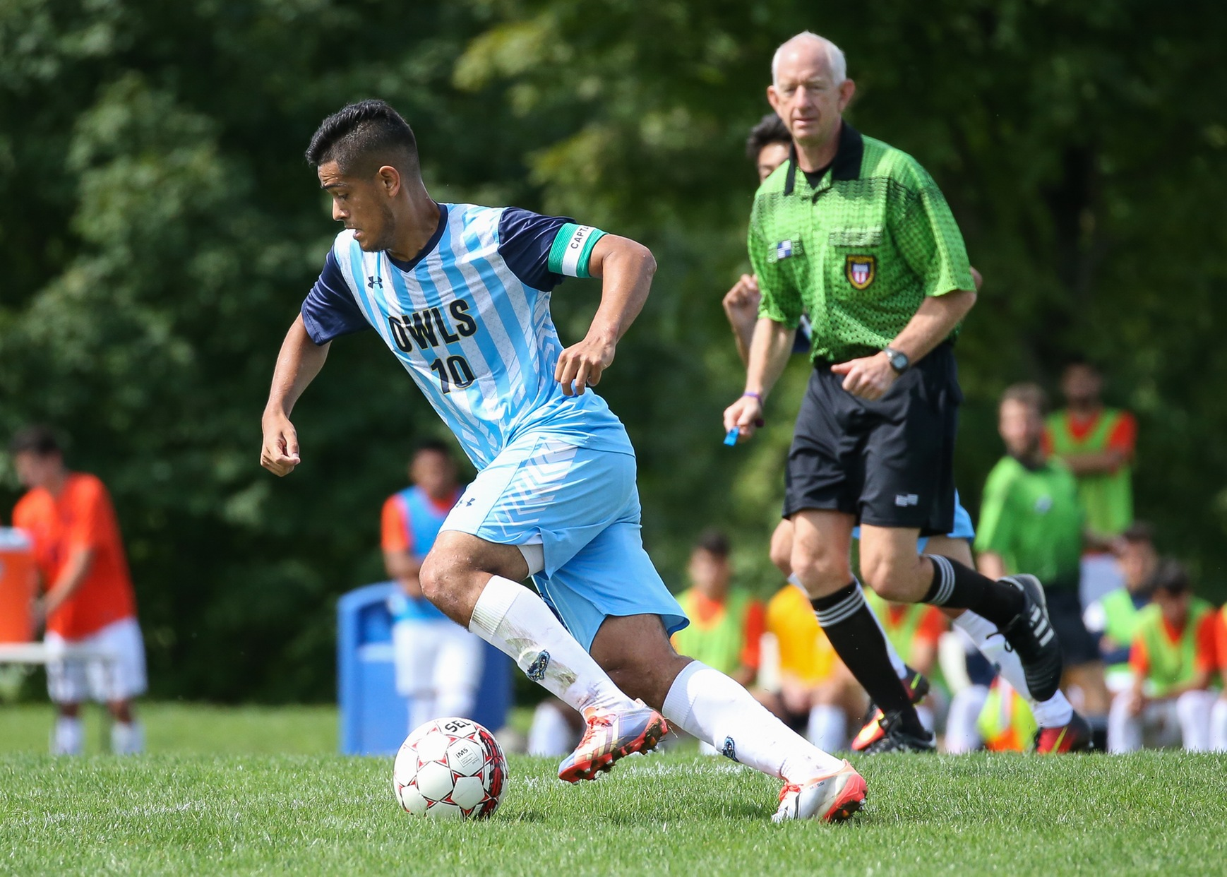 Edwin Claros Propels Sixth-Ranked Prince George's Men's Soccer Past No. 5 Nassau, 3-1