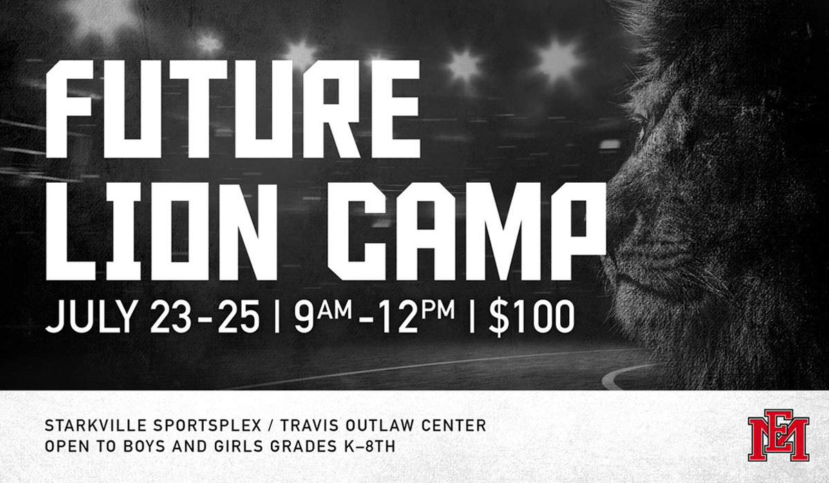 EMCC to hold Future Lion Basketball Camp, July 23-25, at StarkvilleSportsplex