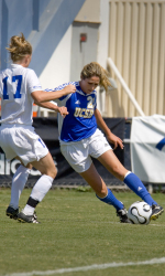 Ives Scores Pair as Gauchos Post Easy Exhibition Win Over Westmont, 3-0