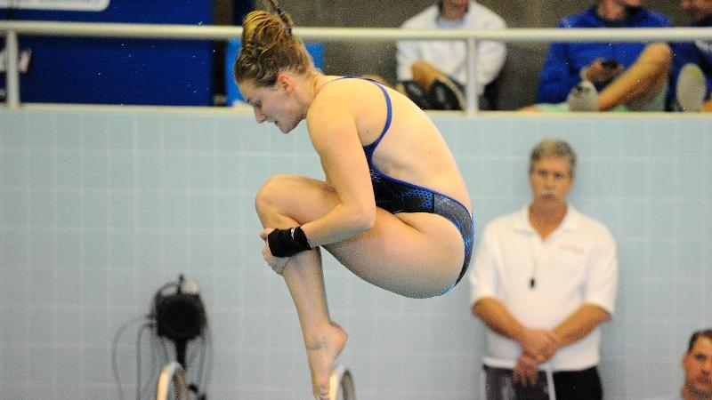 Kaitlyn Beaver Named NEC Diver of the Week