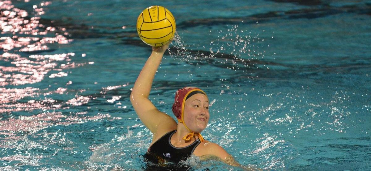 Emily McElroy scored the 11th goal of her first year with the Athenas in the loss to Redlands.