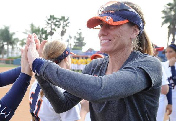 Cal State Fullerton Head Coach Kelly Ford