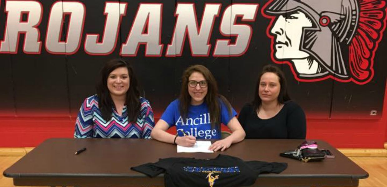 Photo for West Central's Beiswanger Commits to Ancilla Cheer