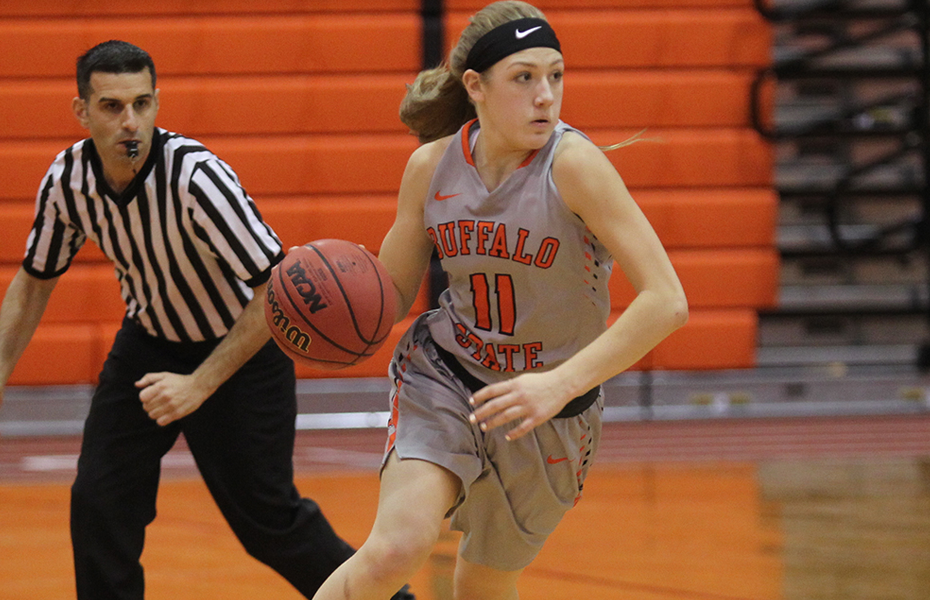 Buffalo State's LeBaron honored as Women's Basketball Athlete of the Week