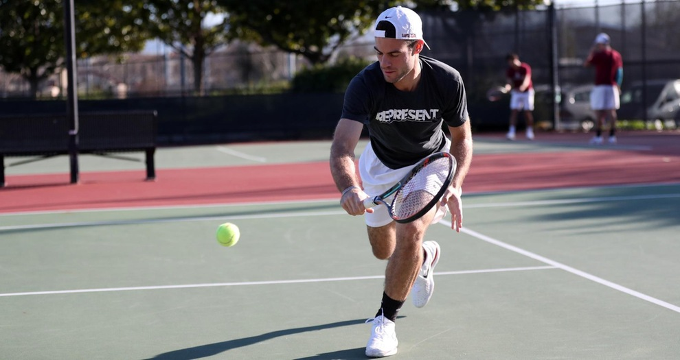 Men's Tennis Edged Out By Cal Poly, 4-3