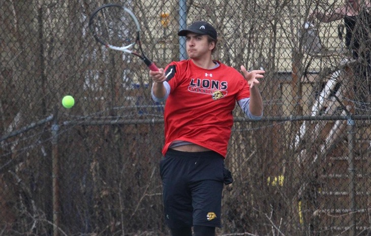 Men's Tennis Collects 6-3 Win at Endicott