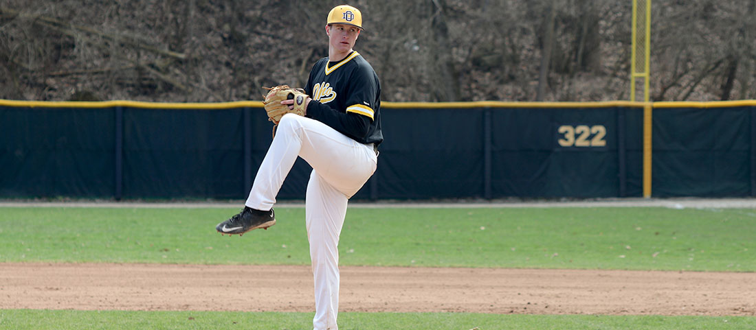 Sunday Split Leaves Baseball One Win Shy Of Conference Tournament Bid