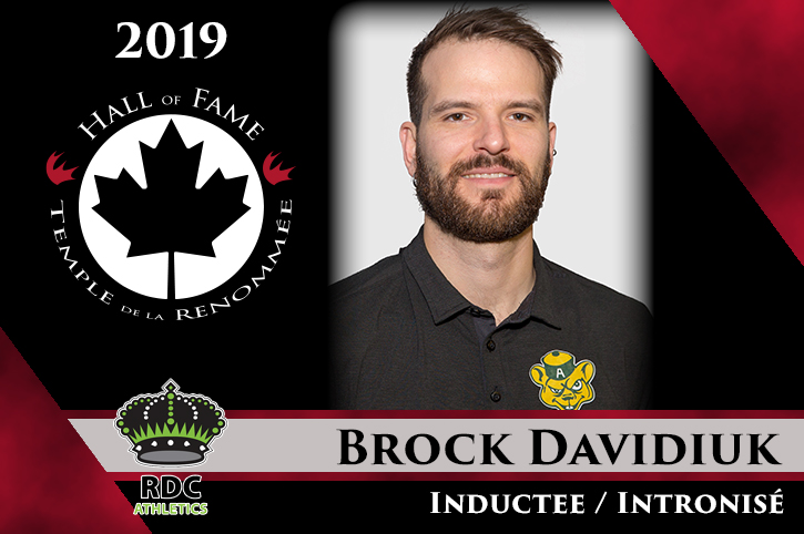 2019 CCAA Hall of Fame Inductee: Brock Davidiuk