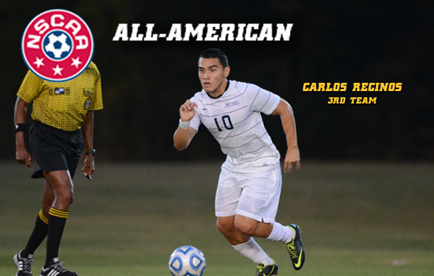 Coker College's Recinos Earns All-American Status