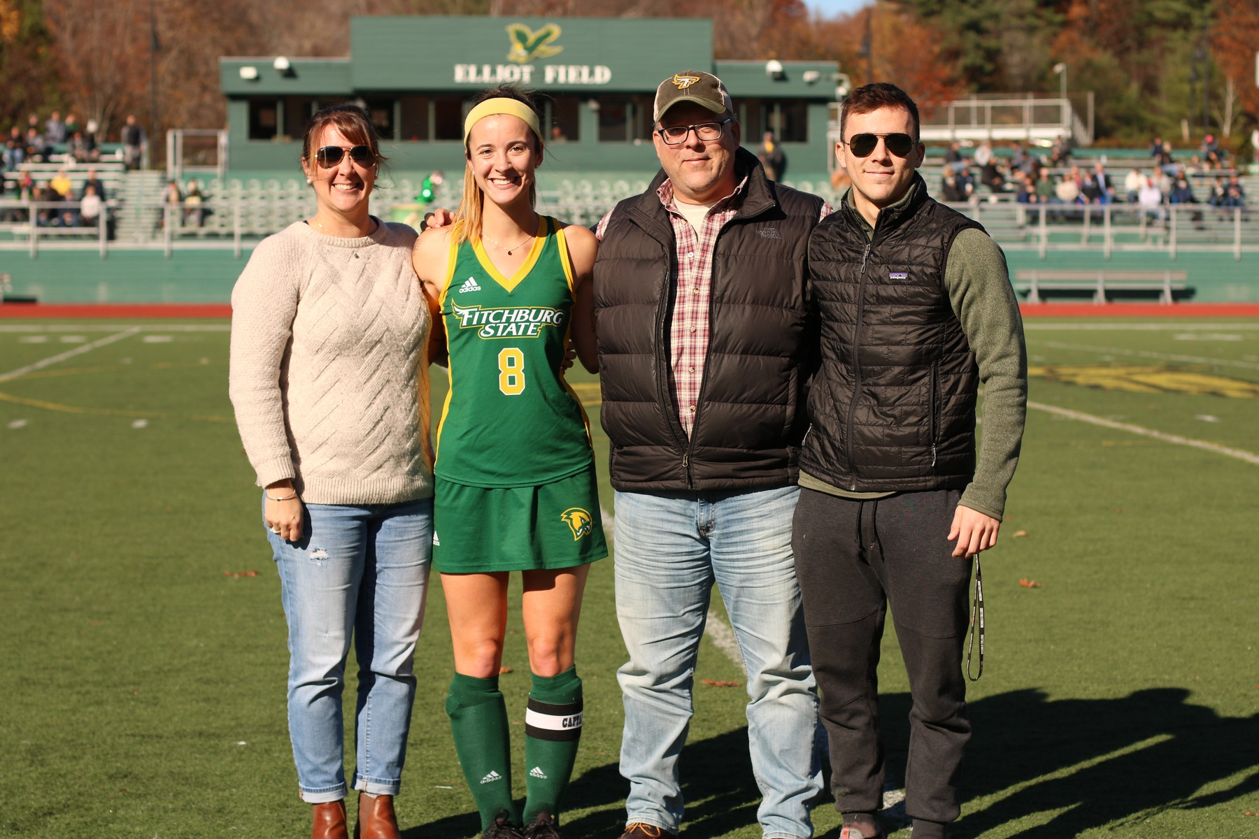 Falcons Edged By Warriors, 2-0 On Senior Day