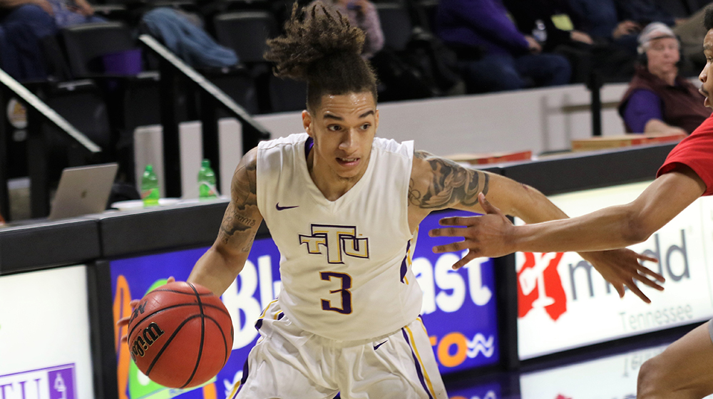 Tech men's basketball team concludes road trip with Saturday tilt at UT Martin