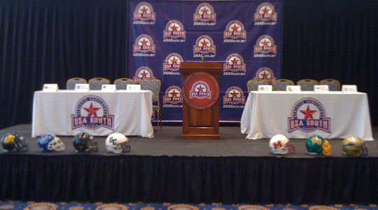 USA South Football Media Day Set for July 30
