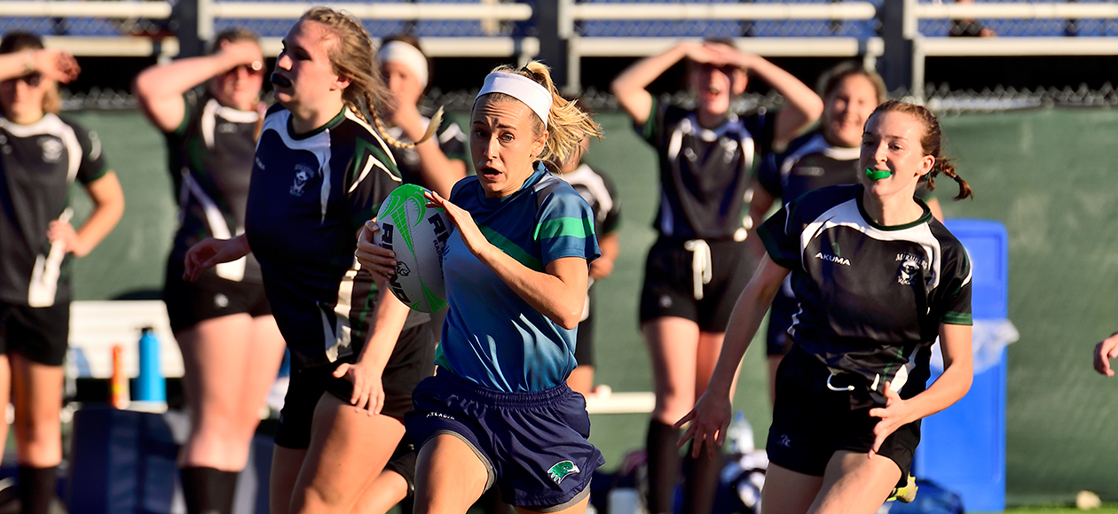 Women's Rugby Routs Plymouth State, 46-19