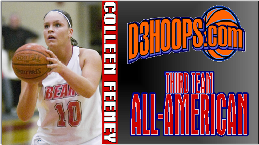 Colleen Feeney Named D3hoops.com 3rd Team All-American