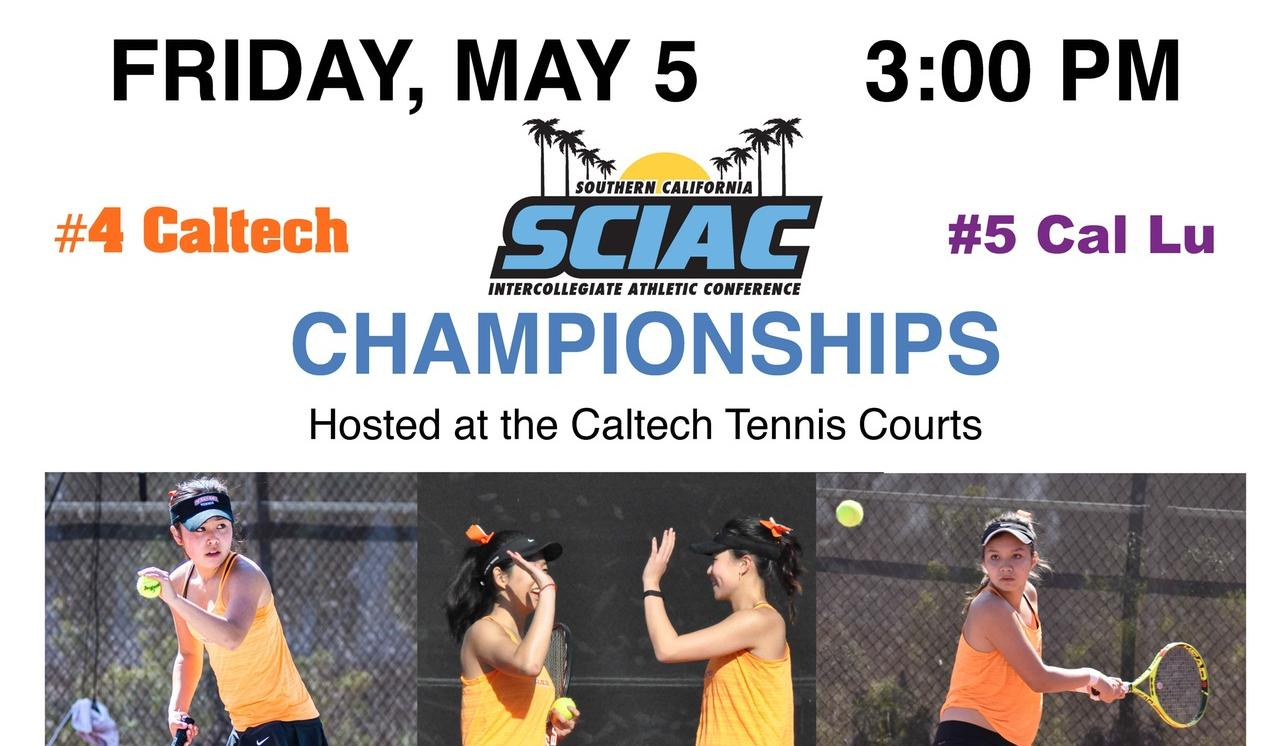 Women's Tennis Hosting SCIAC Championships Match Friday