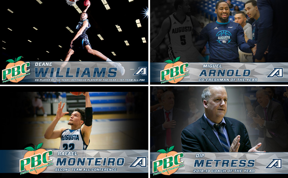 Augusta Cleans Up With Seven All-Conference Honors