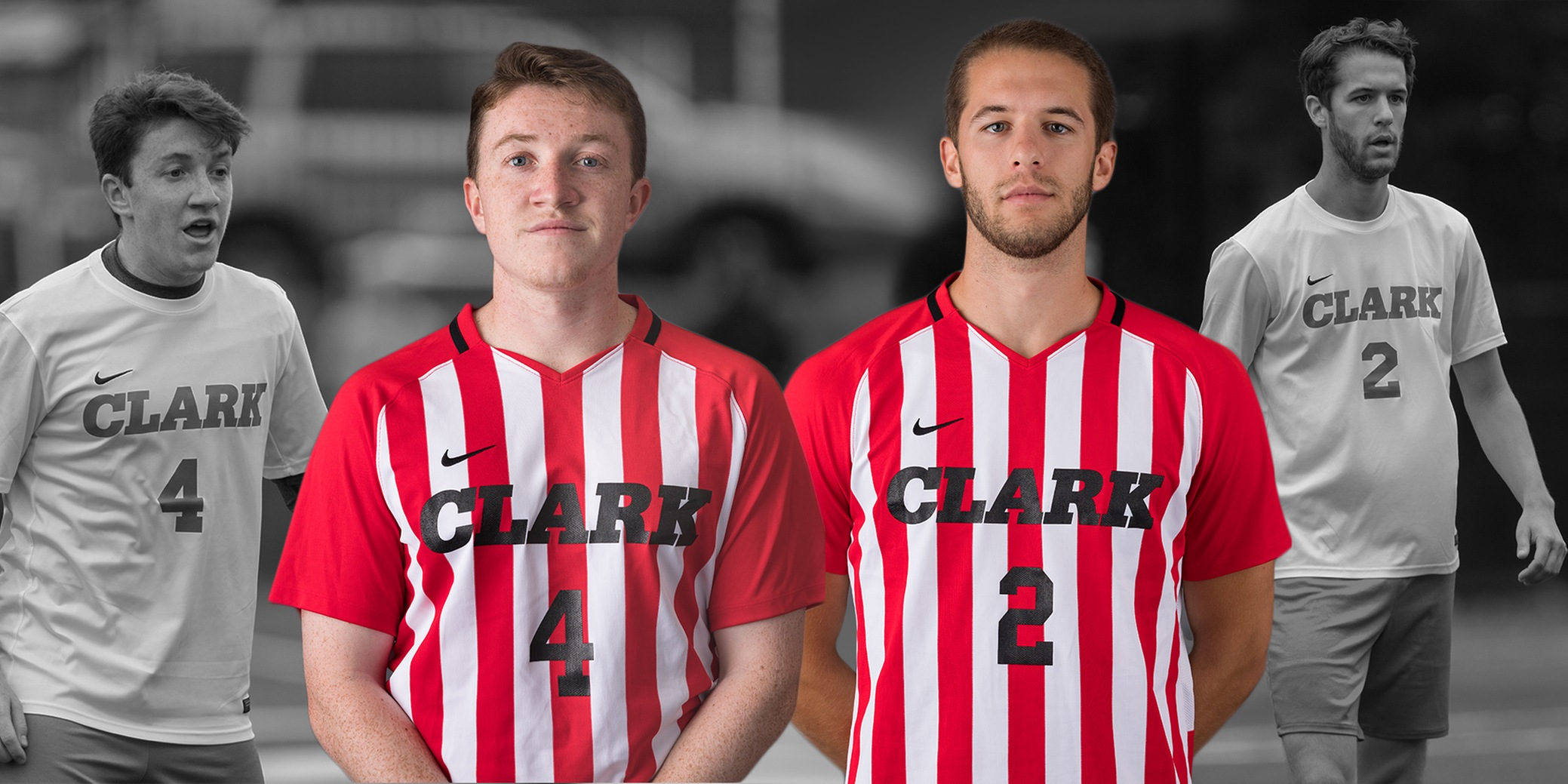 Stark and Feshbach-Meriney named 2018 Men's Soccer Captains