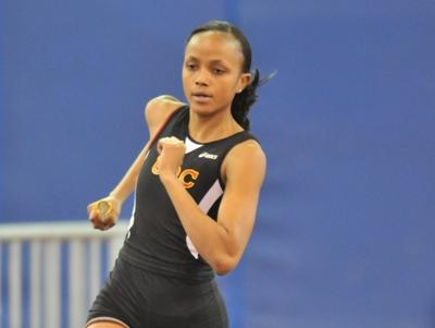 Saleena Green ranked 4th nationally in long jump