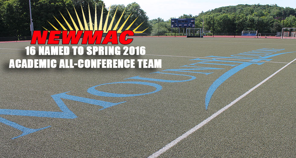 NEWMAC Announces 2016 Spring Academic All-Conference Squads