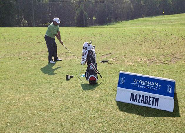 Savio Nazareth '02 Wraps Up Play at Wyndham Championship
