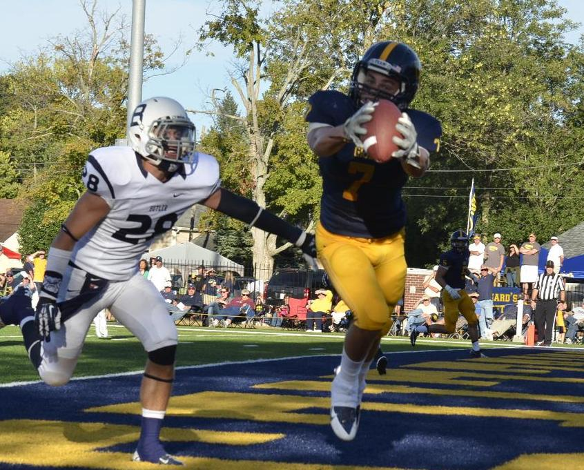 Football Loses Home Opener to Butler
