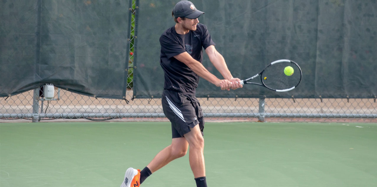Tilden Oliver, Trinity University, Men's Tennis Player of the Week (Week 10)